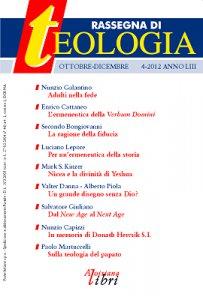 Rassegna di Teologia 2012 - n. 4