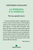 La speranza è la famiglia - Leonardo Catalano