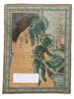 """Immagine di 'Arazzo sacro """"Madonna del Libro"""" - dimensioni 33x25 cm'"""