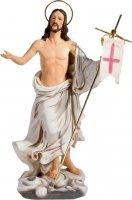 """Statua in resina colorata """"Cristo risorto"""" - altezza 20 cm"""
