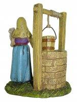 Immagine di 'Statuine presepe: Donna al pozzo linea Martino Landi per presepe da cm 12'