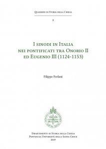 Copertina di 'I sinodi in Italia nei pontificati tra Onorio II ed Eugenio III'