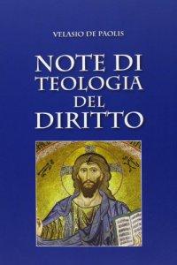 Copertina di 'Note di teologia del diritto'