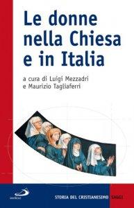 Copertina di 'Le donne nella Chiesa e in Italia'