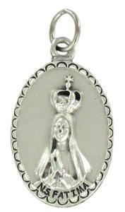 Copertina di 'Medaglia Madonna di Fatima ovale in metallo - 2,5 cm'