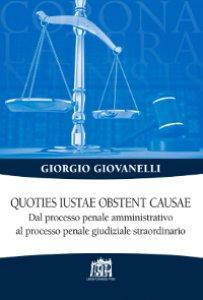 Copertina di 'Quoties iustae obstent causae'