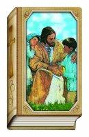 """Icona sagomata a forma di libro """"Prima Confessione"""" (cm 13 x 8)"""