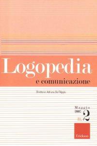 Copertina di 'Logopedia e comunicazione (2007)'