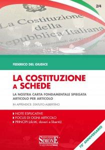 Copertina di 'La Costituzione a Schede'