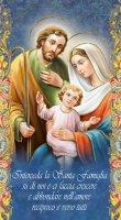"""Benedizione della Famiglia """"Natività"""" - altezza 22 cm (10 pezzi)"""