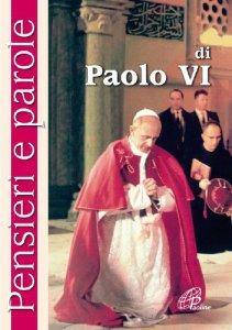 Copertina di 'Pensieri e parole di Paolo VI'