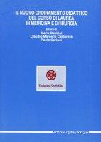 Il nuovo ordinamento del corso di laurea in medicina e chirurgia