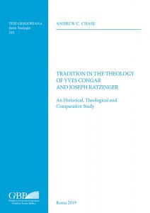 Copertina di 'Tradition in the theology of Yves Congar and Joseph Ratzinger'