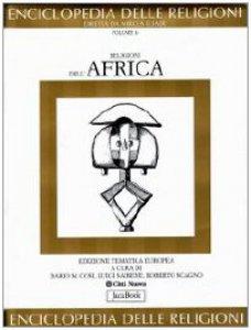 Copertina di 'Religioni dell'Africa'