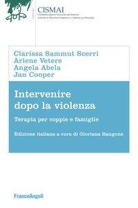 Copertina di 'Intervenire dopo la violenza. Terapie per coppie e famiglie'
