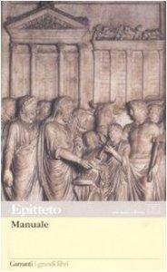 Copertina di 'Manuale. Testo greco e latino a fronte'