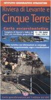 Riviera di Levante e Cinque Terre 1:75 000. Con guida turistica. Ediz. italiana e inglese