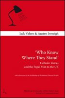 """Who know where they stand"" - Valero Jack, Ivereigh Austen"