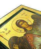 Immagine di 'Icona San Michele Arcangelo, produzione greca su legno - 25 x 20 cm'