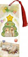 """Immagine di 'Segnalibro magnetico """"Il Natale è gioia"""" - altezza 15 cm'"""