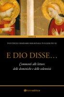 E Dio disse... - Pontificio Seminario Regionale Pugliese Pio XI