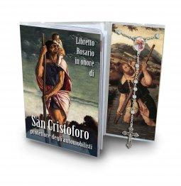 Copertina di 'Libretto con Rosario San Cristoforo - italiano'