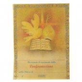 Pergamena grande Santa Cresima (10 pezzi)