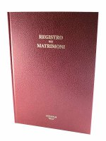 Registro dei matrimoni (238  pg.)