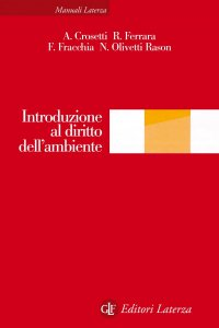 Copertina di 'Introduzione al diritto dell'ambiente'