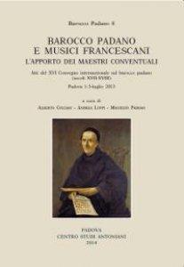 Copertina di 'Barocco padano e musici francescani'