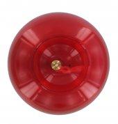 Immagine di 'Boccia in vetro rosso per Santissimo - Ø 16 x 14 cm'