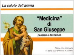 Copertina di '«Medicina» di san Giuseppe. Pensieri e devozione'