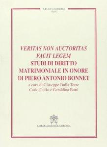 Copertina di 'Veritas non auctoritas facit legem'
