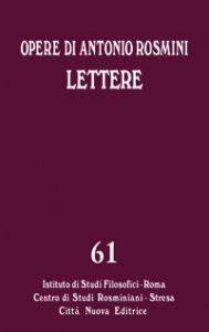 Copertina di 'Lettere. 61'