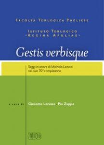 Copertina di 'Gestis verbisque'