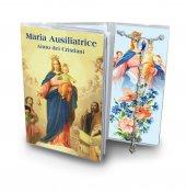 Libretto con Rosario Madonna Ausiliatrice - italiano