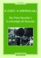Don Primo Mazzolari e le ecclesiologie del '900