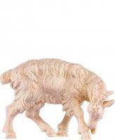 Capra leccante H.K. - Demetz - Deur - Statua in legno dipinta a mano. Altezza pari a 11 cm.