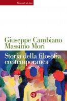 Storia della filosofia contemporanea - Massimo Mori, Giuseppe Cambiano