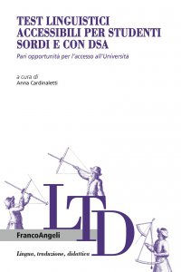 Copertina di 'Test linguistici accessibili per studenti sordi e con Dsa'