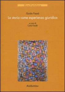Copertina di 'La storia come esperienza giuridica'