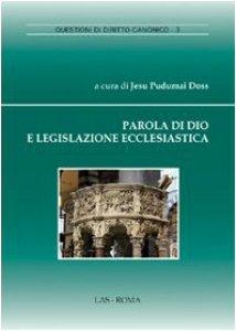 Copertina di 'Parola di Dio e legislazione ecclesiastica'