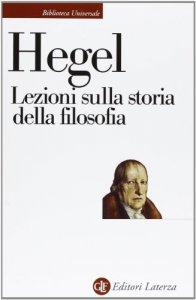Copertina di 'Lezioni sulla storia della filosofia'