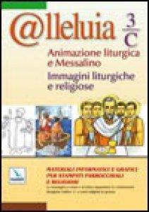 Copertina di '@lleluia. Vol. 3: Anno C. Animazione liturgica e messalino. Immagini liturgiche e religiose. Cd-rom'