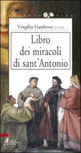 Copertina di 'Libro dei miracoli di sant'Antonio'