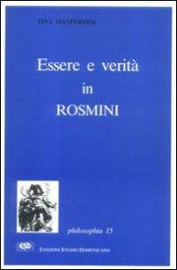 Copertina di 'Essere e verità in Rosmini'