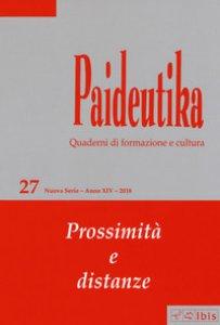 Copertina di 'Paideutika'