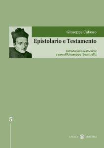 Copertina di 'Epistolario e testamento'