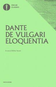 Copertina di 'De vulgari eloquentia'