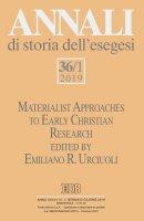 Annali di storia dell'esegesi (2019). Vol. 36/1